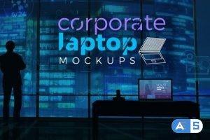 Videohive Corporate Laptop Mockups 21807560