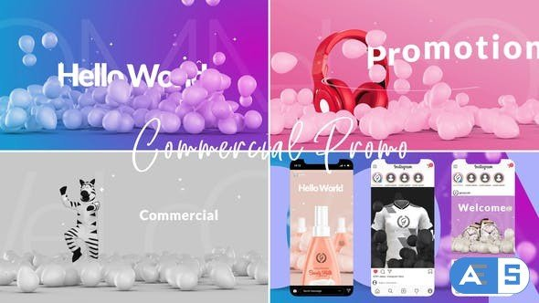 Videohive Commercial Promo 28021805