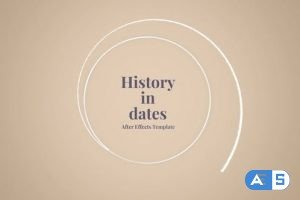 Videohive History in Dates – History Memory 23324098