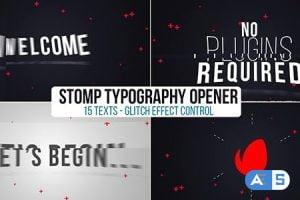 Videohive Stomp Opener 20040418