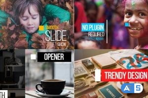 Videohive Smooth Slide 19251628