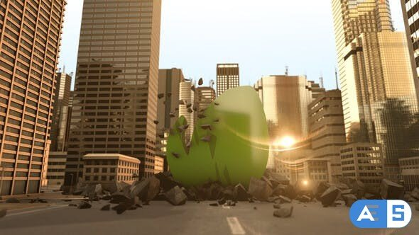 Videohive Massive City Logo 28118247
