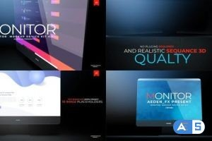Videohive Monitor Mockup Presentation 01 24018699