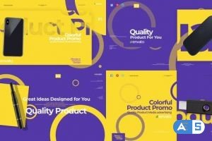 Videohive Colorful Product Promo 25324979