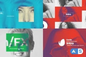 Videohive Abstract Gentle Intro 25631199