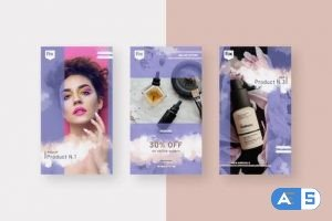 Videohive Beauty Products Instagram Stories 28376872