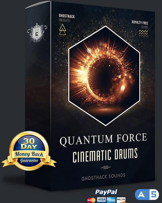 Ghosthack Sounds Quantum Force (Cinematic Drums) WAV-DISCOVER