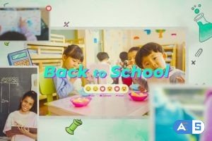 Videohive Back To School Intro Slideshow 28468543