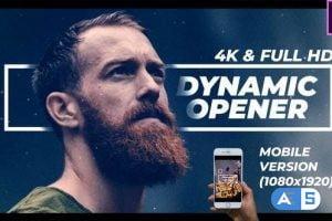 Videohive Dynamic Opener FullHD & 4K 21811603