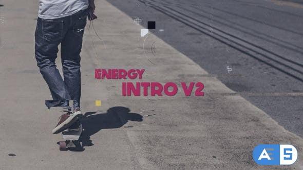 Videohive Energy Intro V2 16729147