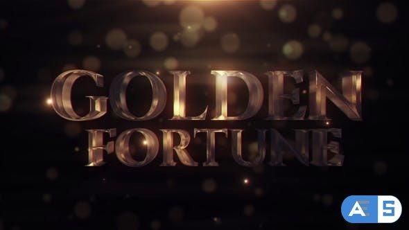 Videohive Golden Fortune 21913924