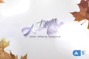 Videohive Autumn Leaf Reveal 28291191