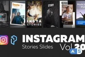Videohive Instagram Stories Slides Vol. 20 28742222