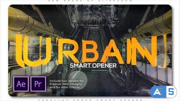 Videohive Parallax Urban Smart Opener 28520482
