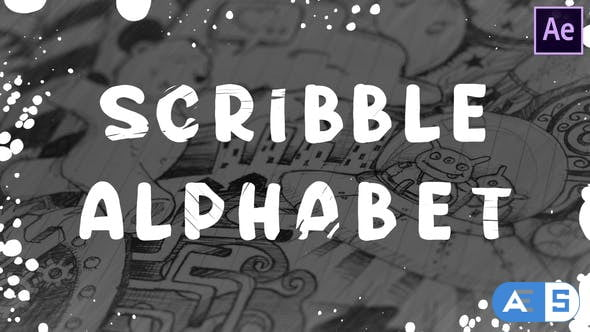 Videohive Scribble Alphabet | After Effects 28562901