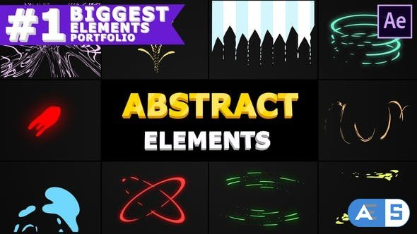 Videohive Abstract Shapes | After Effects 28567593