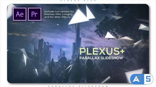 Videohive Plexus Plus Parallax Slideshow 28424737