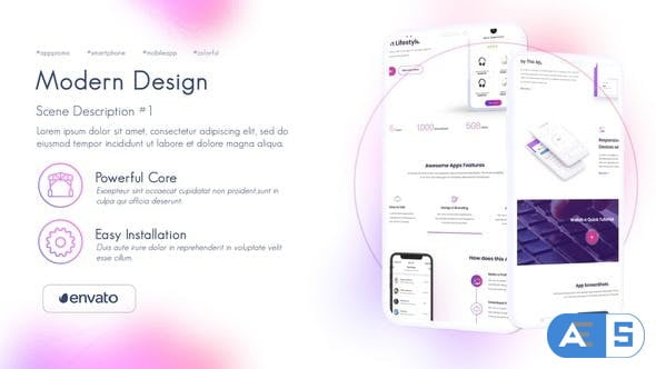 Videohive Colorful App Presentation 28515881