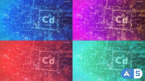 Videohive Chemical Digital Logo Reveal 28650856