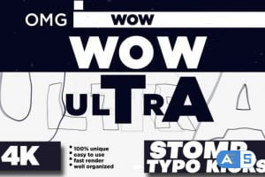Videohive Stomp – Typo Kicks 28278738