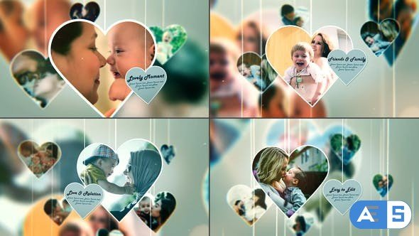 Videohive Lovely Moment – Happy Family Moment – Photo Slideshow 28403694