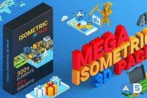 Videohive Isometric Mega Pack 27019075