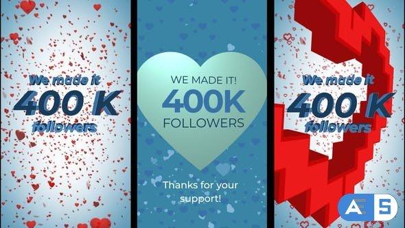 Videohive 400K Followers Stories 28461772