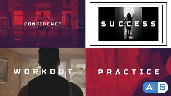 Videohive Fast Sports Opener / Glitch Fitness and Workout 27087936
