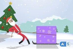 Videohive Santa Logo 25277929