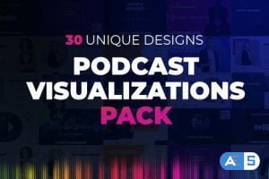 Videohive Podcast Visualizations Pack 27588818