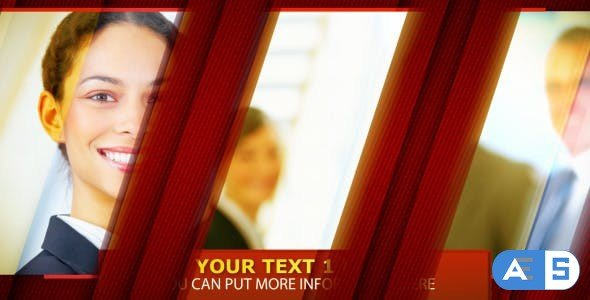Videohive Red Corporate Business 482608