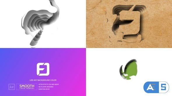 Videohive Smooth Logo Reveal 28564056