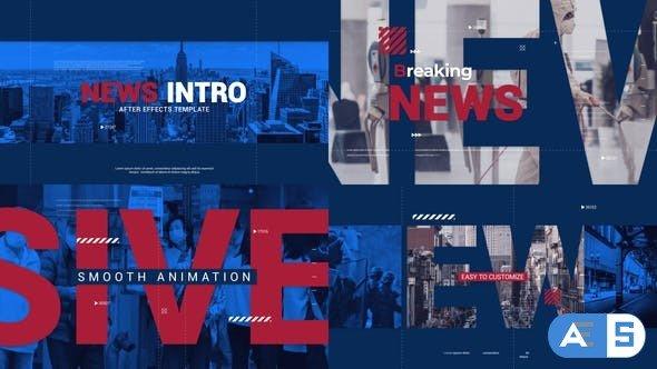 Videohive News Intro 28036529