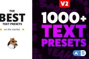 Videohive Text Preset Pack for Animation Composer v2 8949951