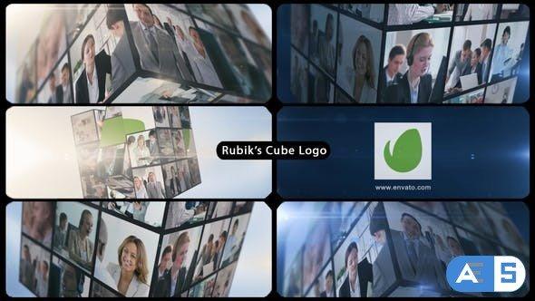 Videohive Rubik's Cube Multi Video Corporate Logo 15361279