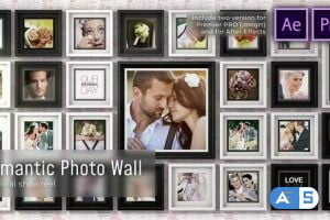 Videohive Romantic Photo Wall 28520442