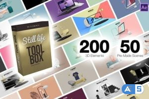 Videohive Still Life Toolbox AE & Premiere Pro Mogrts 28042599