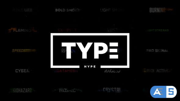 Videohive TypeHype – Titles Animation \\ Motion Typography Text 21810845