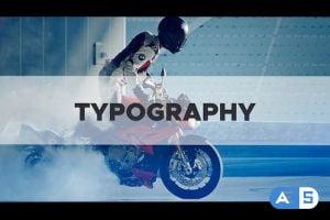 Videohive Typography Intro 21903978