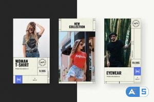 Videohive Vintage Denim Fashion Stories 28587657