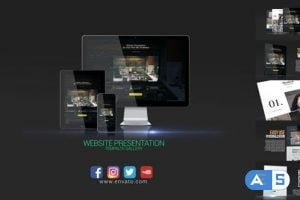 Videohive Website Presentation 19292817