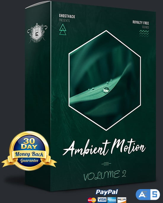 Ghosthack Sounds Ambient Motion Volume 2 WAV MiDi-DISCOVER