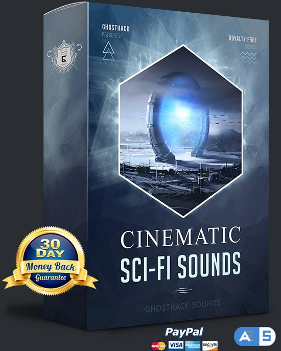 Ghosthack Sounds Cinematic Sci-Fi Sounds WAV MiDi-DISCOVER