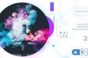 Videohive Clean Colorful Promo 21208877