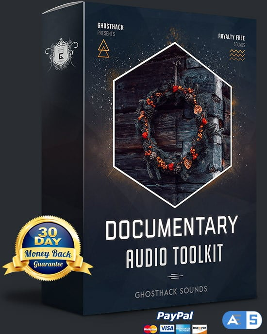 Ghosthack Sounds Documentary Audio Toolkit WAV MiDi-DISCOVER