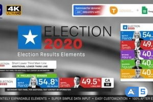 Videohive Election Results Elements 28655204