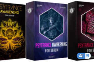 Ghosthack Sounds Psytrance Awakening Volume 1-3 For XFER RECORDS SERUM-DISCOVER