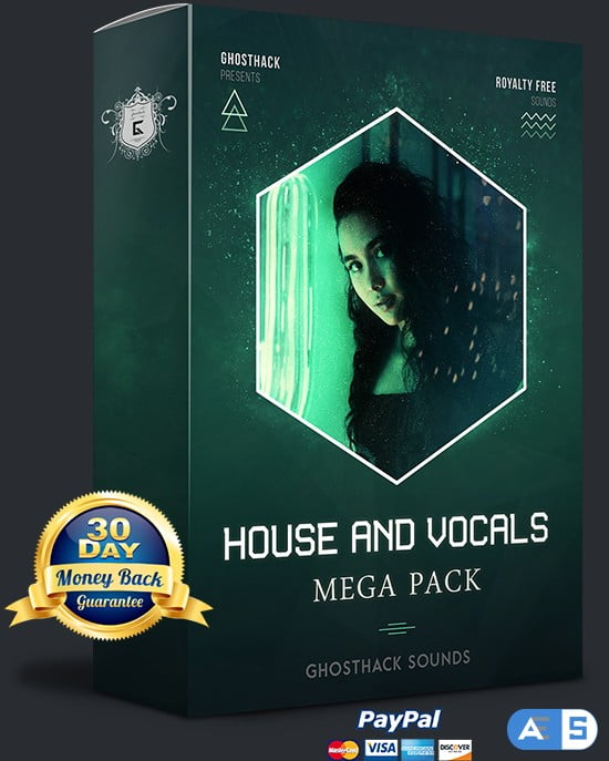 Ghosthack Sounds House And Vocals Mega Pack MULTiFORMAT-DISCOVER