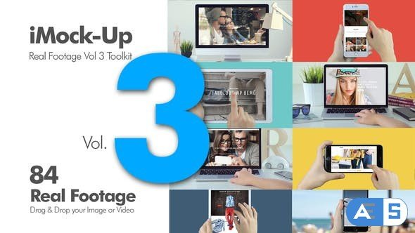 Videohive iMock-Up Real Footage Vol 3 Toolkit 11528641