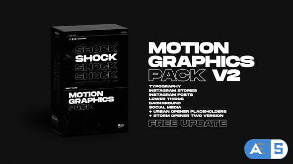 Videohive Shock | Motion Graphics Pack V2 24181222